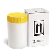 Желтая био-бутылка